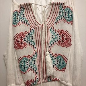 Dresses - White boho dress